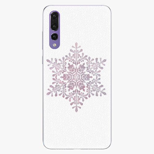 Plastový kryt iSaprio - Snow Flake - Huawei P20 Pro