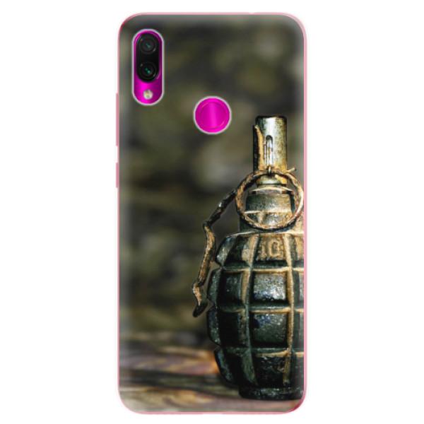 Odolné silikonové pouzdro iSaprio - Grenade - Xiaomi Redmi Note 7