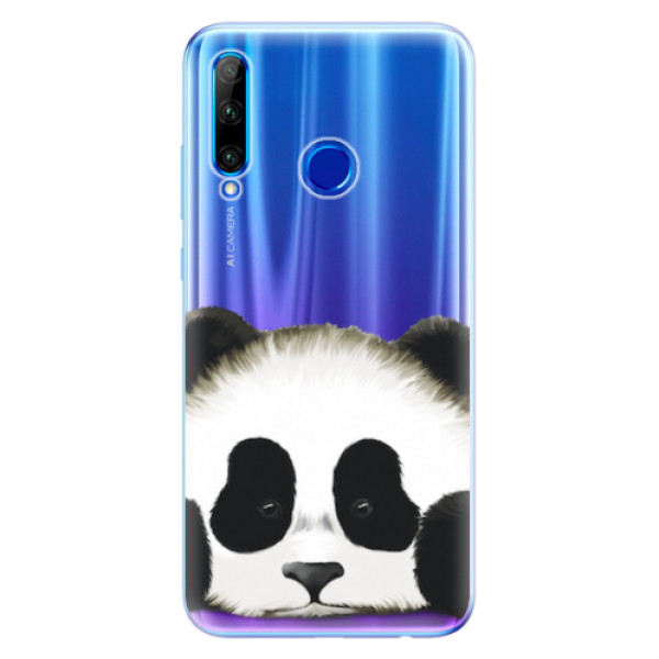 Odolné silikonové pouzdro iSaprio - Sad Panda - Huawei Honor 20 Lite