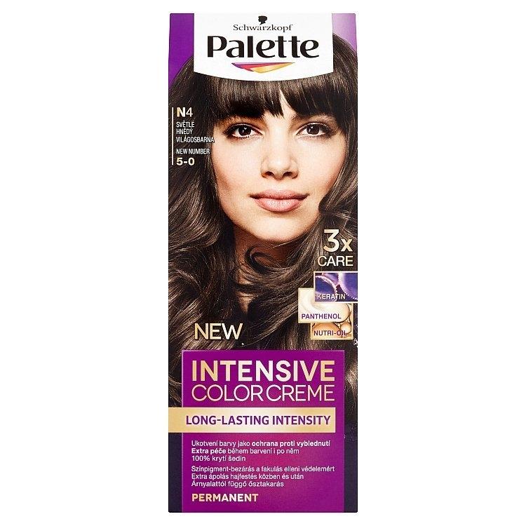 Schwarzkopf Intensive Color Creme barva na vlasy Světle Hnědý N4 (5-0)
