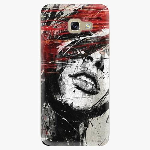Plastový kryt iSaprio - Sketch Face - Samsung Galaxy A5 2017
