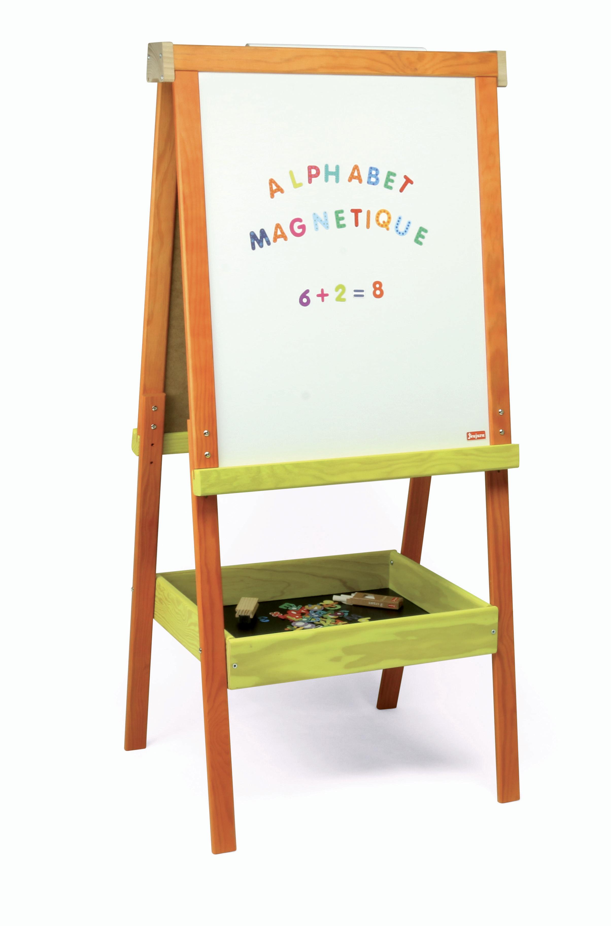 Jeujura Dřevěná multiaktivní tabule 54x66 cm s příslušenstvím