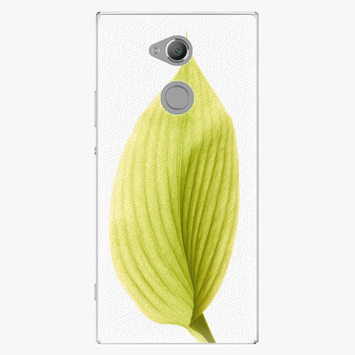 Plastový kryt iSaprio - Green Leaf - Sony Xperia XA2 Ultra