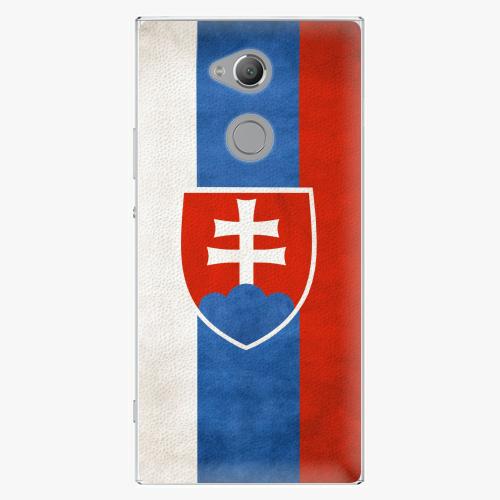 Plastový kryt iSaprio - Slovakia Flag - Sony Xperia XA2 Ultra