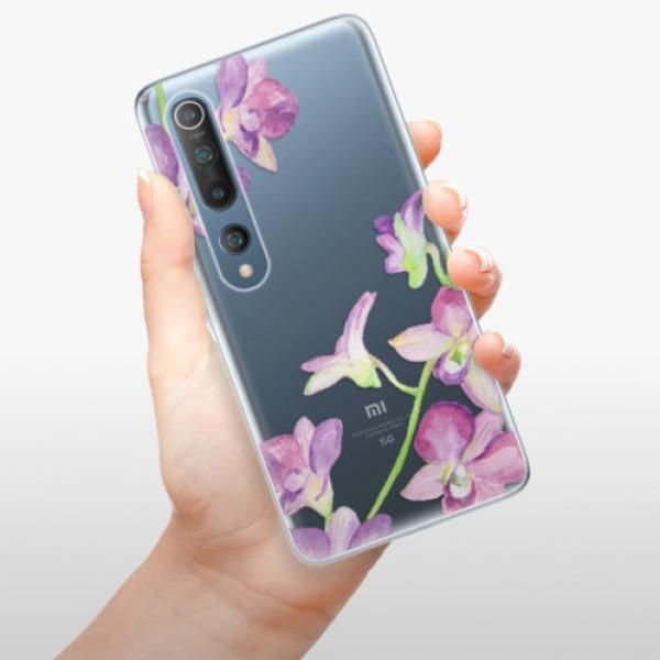 Odolné silikonové pouzdro iSaprio - Purple Orchid - Xiaomi Mi 10 / Mi 10 Pro