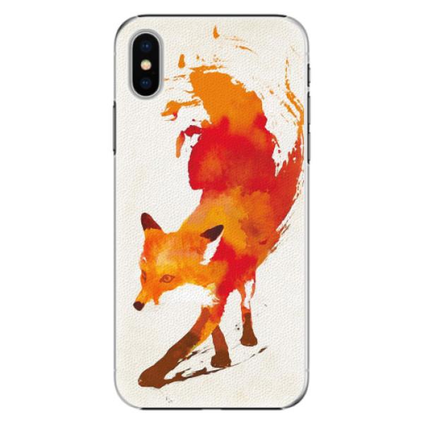 Plastové pouzdro iSaprio - Fast Fox - iPhone X