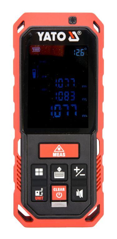 Laserový měřič vzdálenosti, 0.2 - 40 m