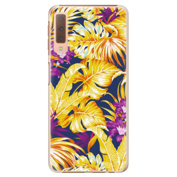 Plastové pouzdro iSaprio - Tropical Orange 04 - Samsung Galaxy A7 (2018)