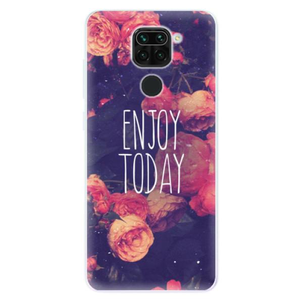 Odolné silikonové pouzdro iSaprio - Enjoy Today - Xiaomi Redmi Note 9