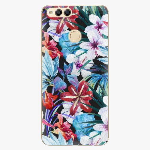 Plastový kryt iSaprio - Tropical Flowers 05 - Huawei Honor 7X