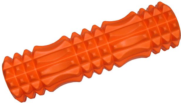 ACRA Válec masážní 45x14cm fitness roller oranžový plast