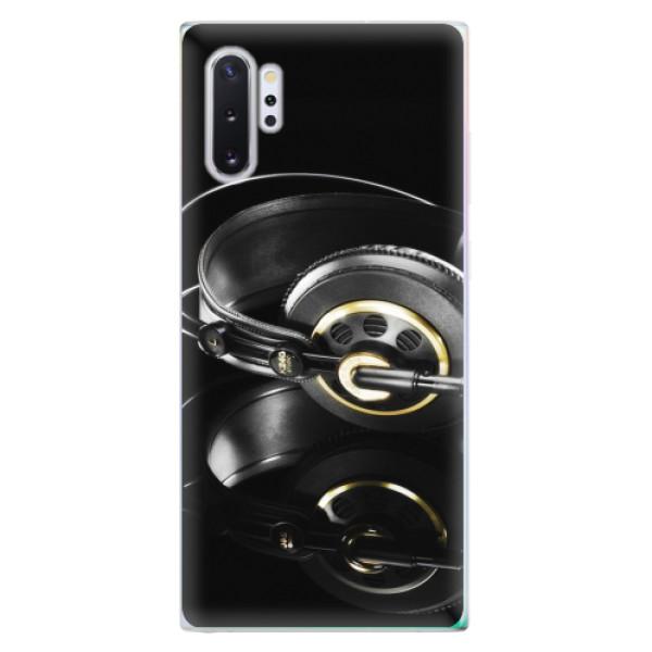 Odolné silikonové pouzdro iSaprio - Headphones 02 - Samsung Galaxy Note 10+