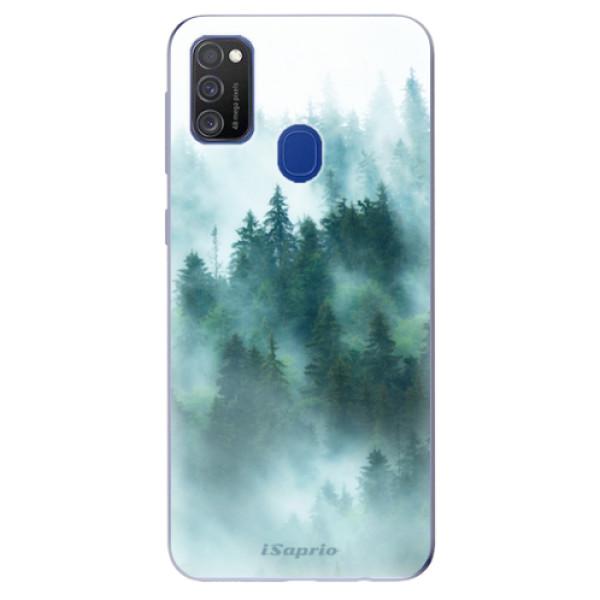 Odolné silikonové pouzdro iSaprio - Forrest 08 - Samsung Galaxy M21