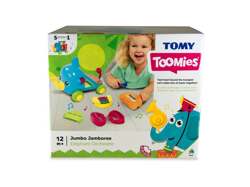 TOOMIES - Hudební slon Jumbo