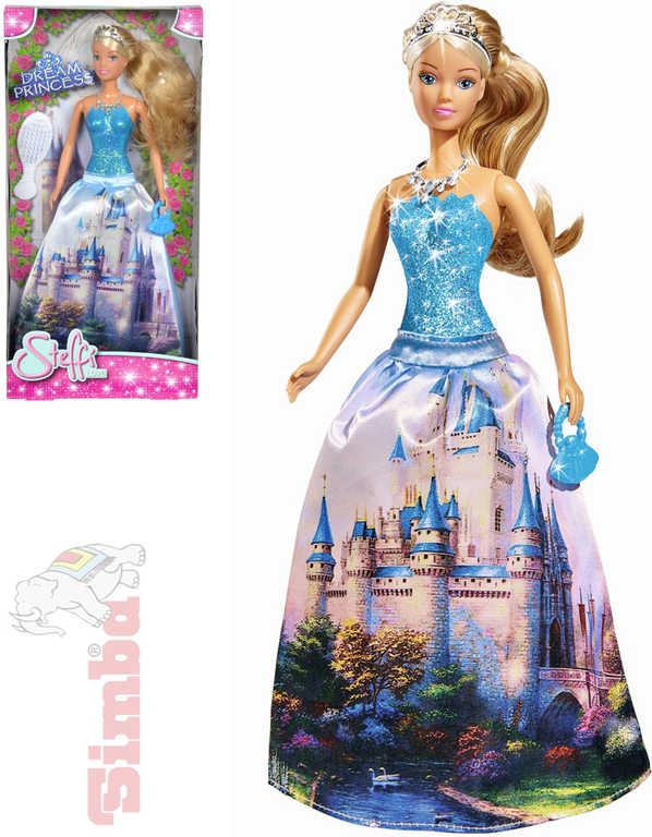 SIMBA Panenka Steffi Love princezna 29 cm Dream Princess set s doplňky