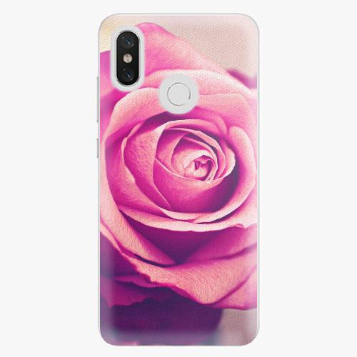 Plastový kryt iSaprio - Pink Rose - Xiaomi Mi 8