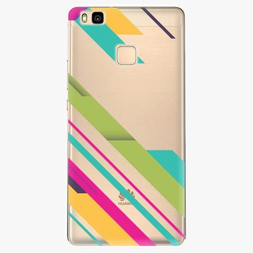 Plastový kryt iSaprio - Color Stripes 03 - Huawei Ascend P9 Lite