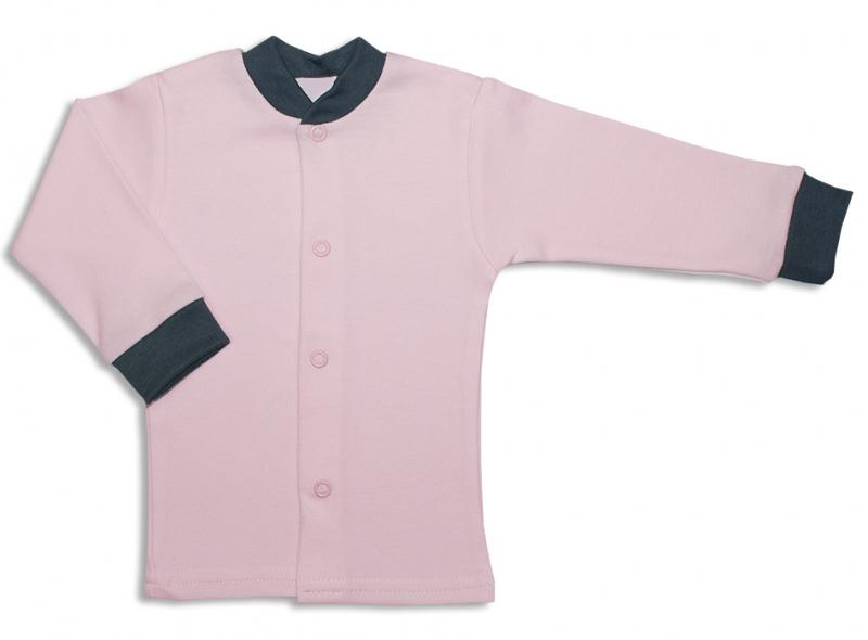 Bavlněná kojenecká košilka, Malá Princezna - růžová, vel.