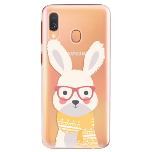 Plastové pouzdro iSaprio - Smart Rabbit - Samsung Galaxy A40