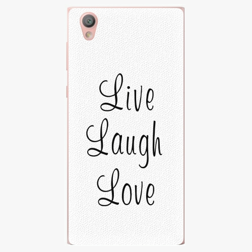 Plastový kryt iSaprio - Live Laugh Love - Sony Xperia L1
