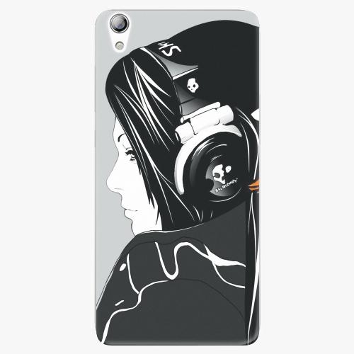 Plastový kryt iSaprio - Headphones - Lenovo S850
