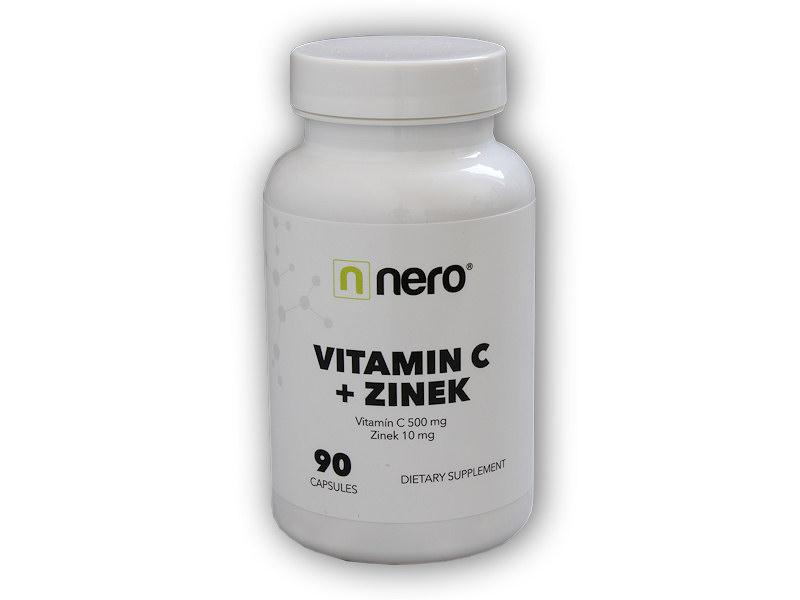 Vitamin C + Zinek 90 kapslí