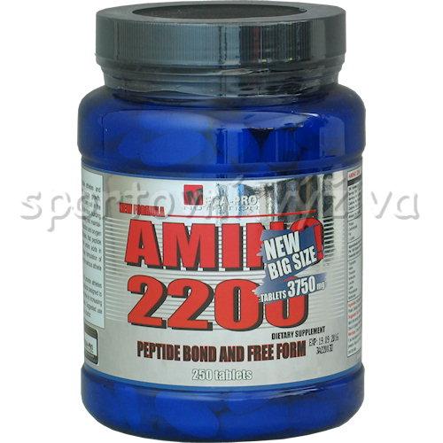 Amino 2200 New Big Size 3750mg 250 tablet