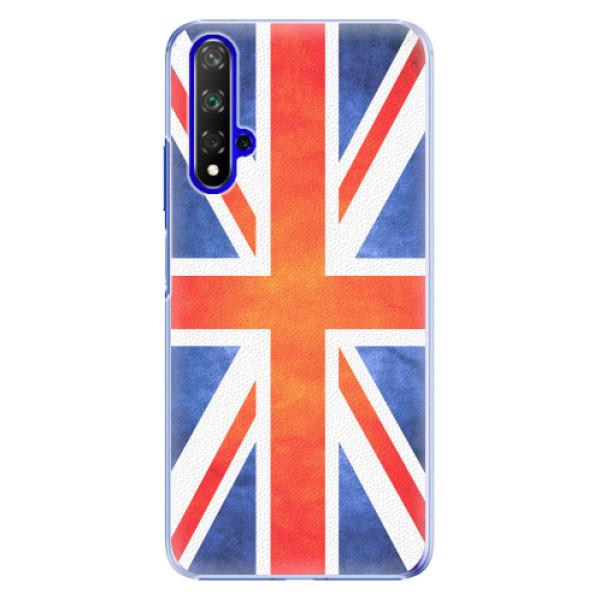 Plastové pouzdro iSaprio - UK Flag - Huawei Honor 20