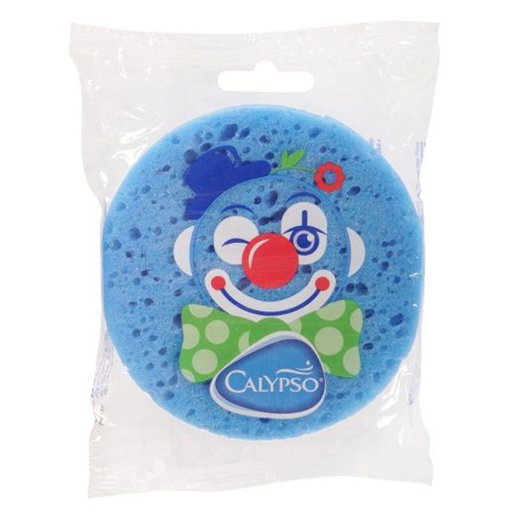 Koupelová houba Klaun Calypso - modrá