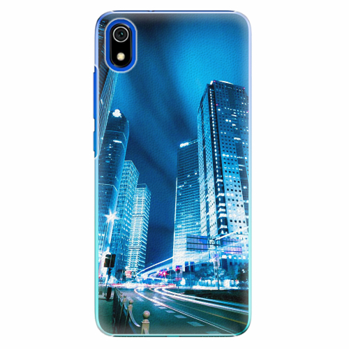 Plastový kryt iSaprio - Night City Blue - Xiaomi Redmi 7A