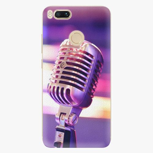 Plastový kryt iSaprio - Vintage Microphone - Xiaomi Mi A1