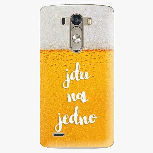 Plastový kryt iSaprio - Jdu na jedno - LG G3 (D855)