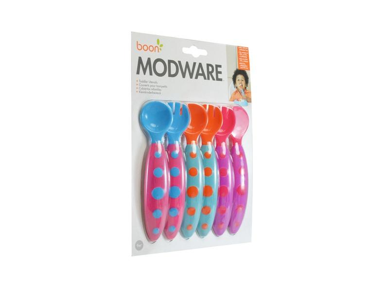 Boon - MODWARE - Příbor pro batolata 3 ks - různé barvy