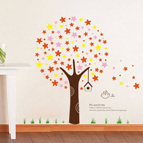 Samolepka na zeď kouzelný strom