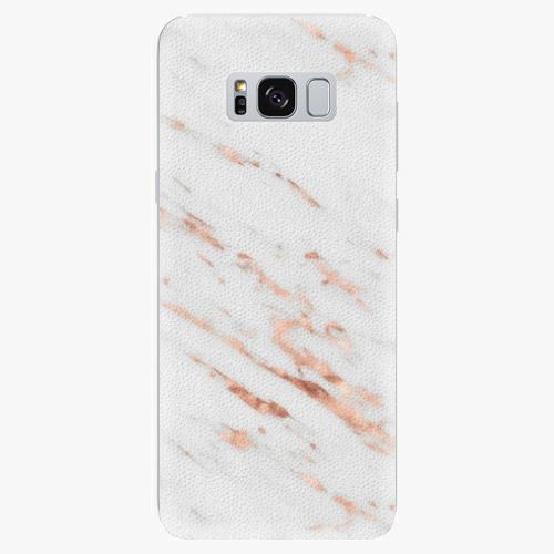 Plastový kryt iSaprio - Rose Gold Marble - Samsung Galaxy S8 Plus