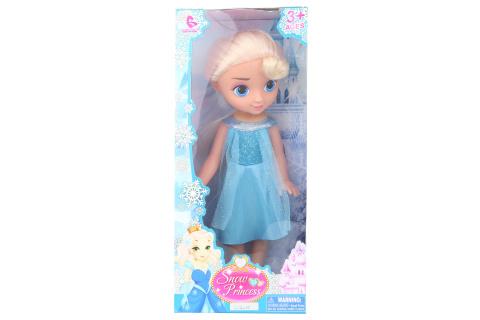 Sněhová panenka blondýnka