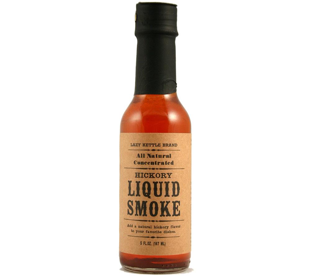 Lazy Kettle Brand tekutý kouř hickory 147 ml