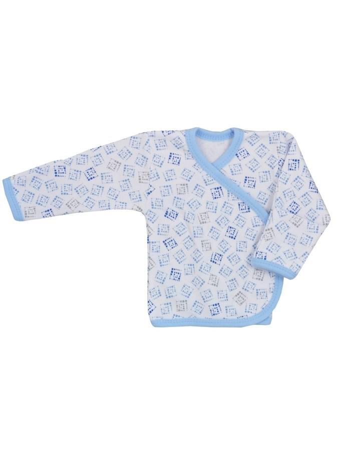 Kojenecká košilka Koala Magnetky s kostičkami - modrá/68 (4-6m)
