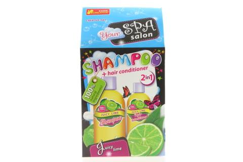 Výroba šampónu a kondicionéru - limetka 2v1