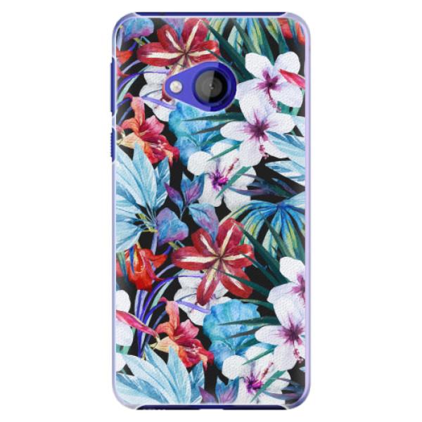 Plastové pouzdro iSaprio - Tropical Flowers 05 - HTC U Play