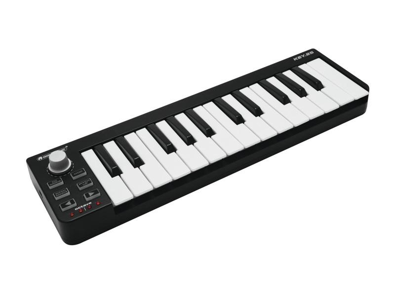 Omnitronic KEY-25 MIDI ovladač