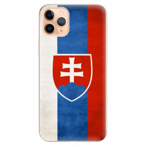 Silikonové pouzdro iSaprio - Slovakia Flag - iPhone 11 Pro Max