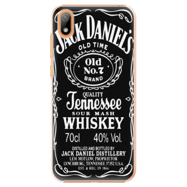Plastové pouzdro iSaprio - Jack Daniels - Huawei Y5 2019