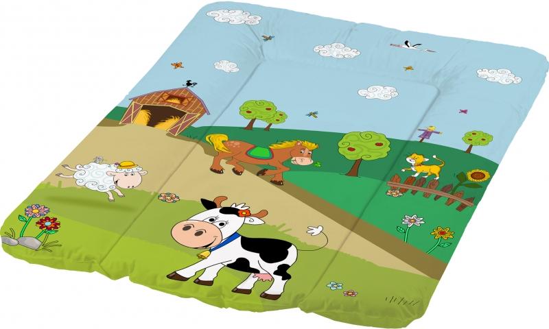 Přebalovací podložka Funny Farm - měkká, kravička