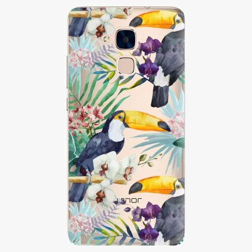 Plastový kryt iSaprio - Tucan Pattern 01 - Huawei Honor 7 Lite
