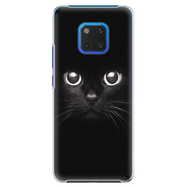 Plastové pouzdro iSaprio - Black Cat - Huawei Mate 20 Pro