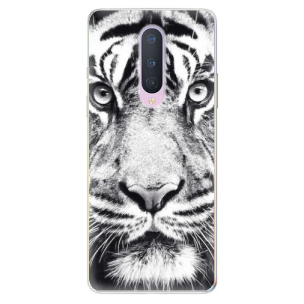 Odolné silikonové pouzdro iSaprio - Tiger Face - OnePlus 8