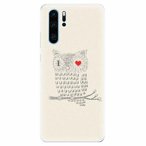 Silikonové pouzdro iSaprio - I Love You 01 - Huawei P30 Pro