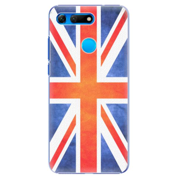 Plastové pouzdro iSaprio - UK Flag - Huawei Honor View 20
