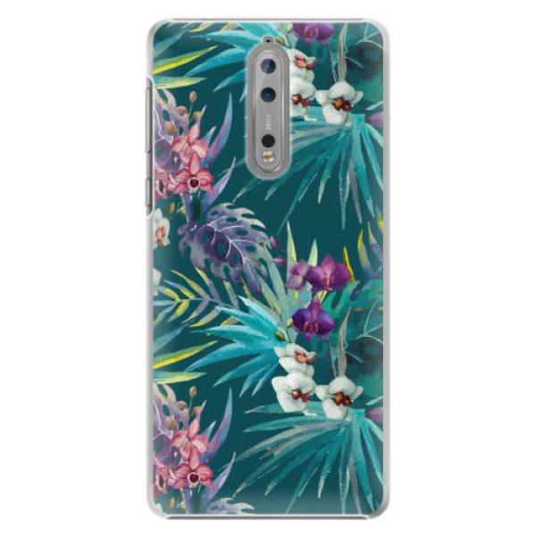 Plastové pouzdro iSaprio - Tropical Blue 01 - Nokia 8